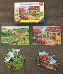 A11: Ravensburger 2 in a box farm puzzle