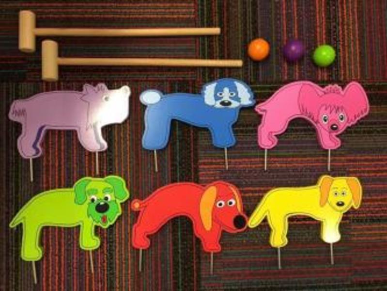 B1: Doggie Croquet Set