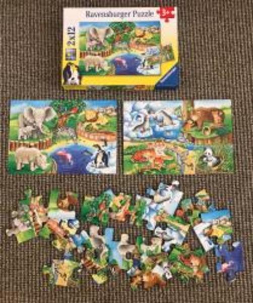 A6: Ravensburger Double Puzzle