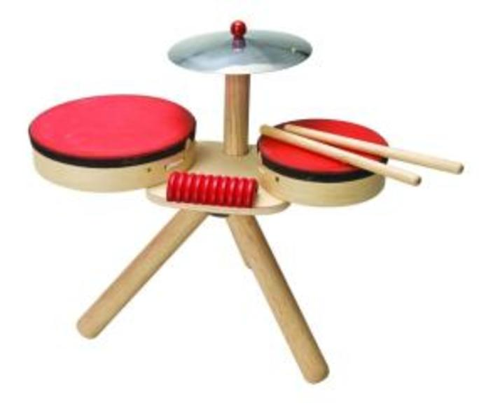 F17: Plan Toys Drum Kit