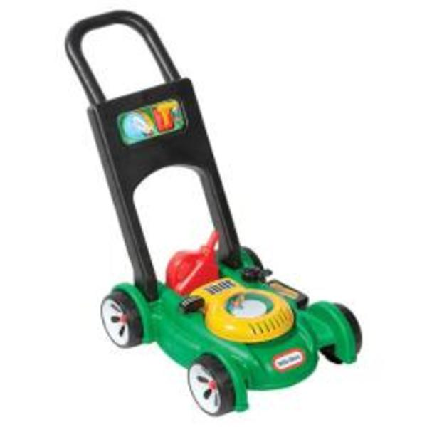 F20: Little Tikes Lawn Mower with Jerry Can