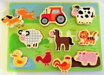 7067: FARM CHUNKY INSET PUZZLE