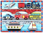7085: VEHICLES CHUNKY INSET PUZZLE