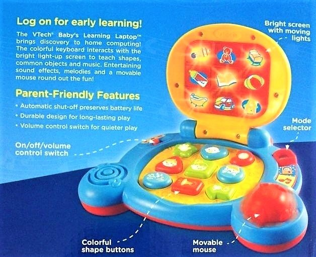 7143: BABY'S LEARNING LAPTOP