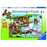 7152: DAY AT THE ZOO PUZZLE