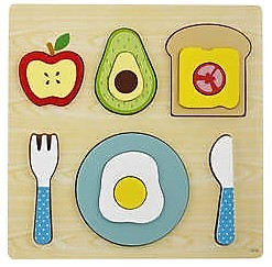 7165: BREAKFAST CHUNKY INSET PUZZLE