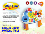 7174: BALLS & SHAPES ACTIVITY TABLE