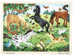 7227: FROLICKING HORSES PUZZLE