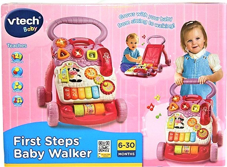 7292: FIRST STEPS BABY WALKER