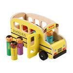 7415: SCHOOL BUS - Wooden