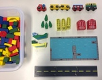 C3003: Vehicle and Boat Building Block Set