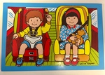P2004: Road Safety Car Seat puzzle