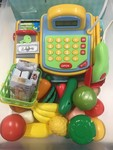 E3006: Cash Register and Food Play Set