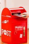 E7001: Wooden Post Box