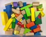 C3005: Wooden Mixed Blocks Set
