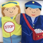 773: Puppets - Lollypop Lady and Postman