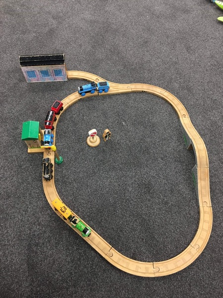 261: Thomas Wooden Track and Friends
