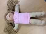 E2.907.8: Pumpkin Patch Doll Girl