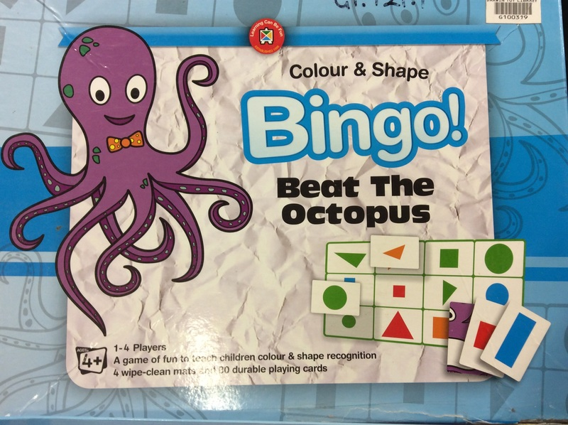 G1.121.1: COLOUR AND SHAPE BINGO GAME