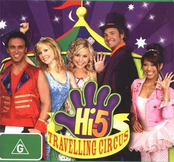 A6.150.1: Hi 5 TRAVELLING CIRCUS DVD