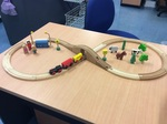 E2.005.2: WOODEN TRAIN SET