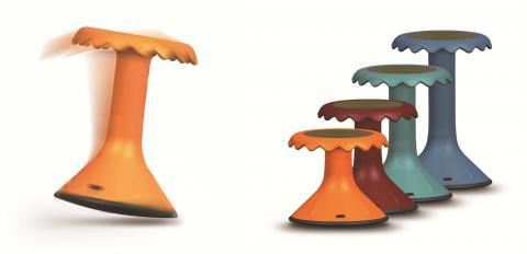 C4.088.2: Orange Bloom Stool