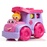C3.028.6: PINK AND PURPLE WAGON WITH BLOCKS