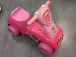 A2.031.4: Fisher Price Princess Scoot & Ride