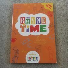 E3.127.1: IT'S RHYME TIME BOOK AND CD