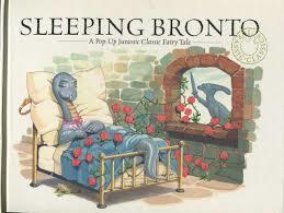 E3.909.1: SLEEPING BRONTO BOOK