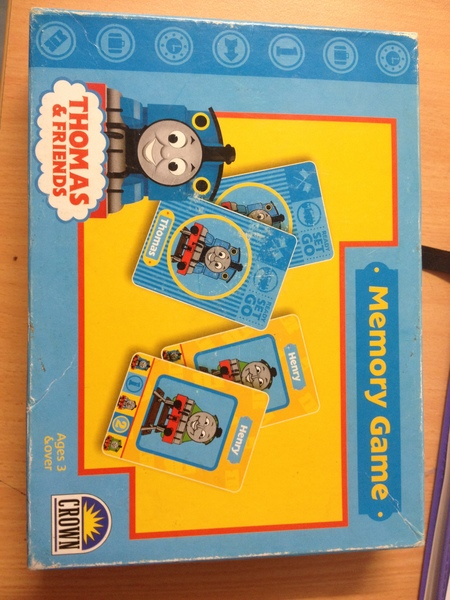 d1.404.3: Thomas and Friends Memory Game
