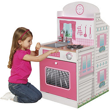 E2.151.3: Pink Kitchen and Doll House