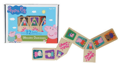 G1.067.1: PEPPA PIG WOODEN DOMINOES