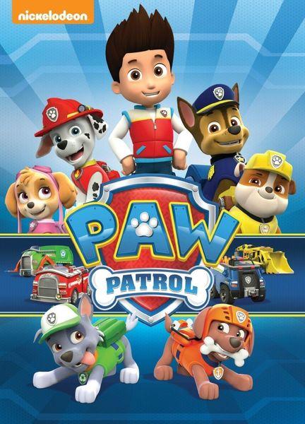 A6.157.1: PAW PATROL THE MOVIE DVD