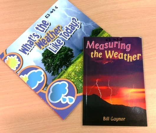 E3.163.3: 2 WEATHER BOOKS