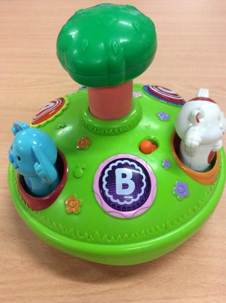 B2.496.1: Table top animal spinner