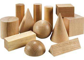C4.035.1: Wooden Geometric Solids