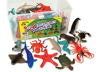 C4.036.1: Counters: Sea Creatures