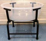 C4.051.1: CLEAR TUB AND STAND