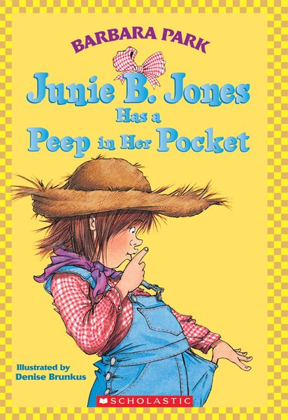 E3.402.6: Junie B. Jones has a peep in her pocket