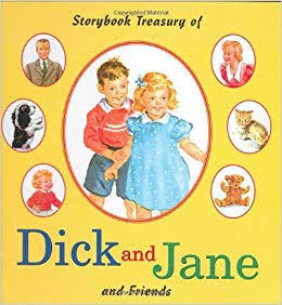 E3.307.1: STORYBOOK TREASURY OF DICK AND JANE