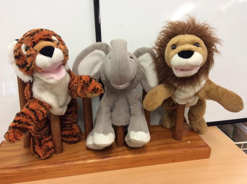 E2.112.24: Jungle Animal Puppets