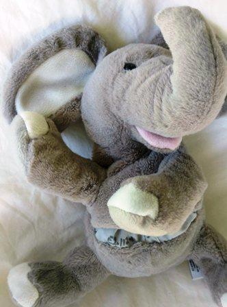 E2.112.38: ELEPHANT PUPPET