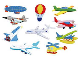 C4.896.3: LARGE FELT PIECES - Planes
