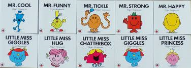 E3.079.1: Mr Men & Little Miss Books