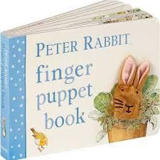 E3.100.2: PETER RABBIT FINGER PUPPET BOOK