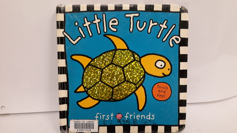 E3.995.8: Little Turtle touch and feel Book