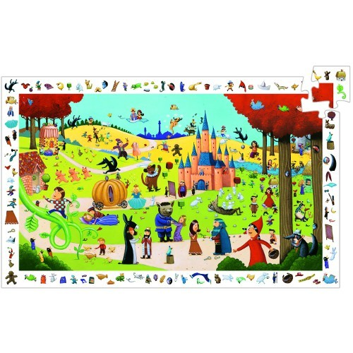 C2.051.12: Fairy Tales Observation  Puzzle