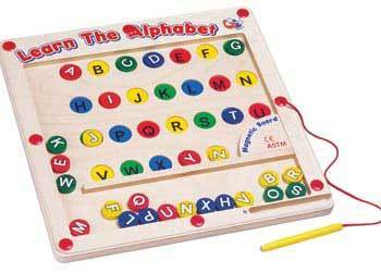 E3.992.2: Learn the Alphabet Magnetic Board