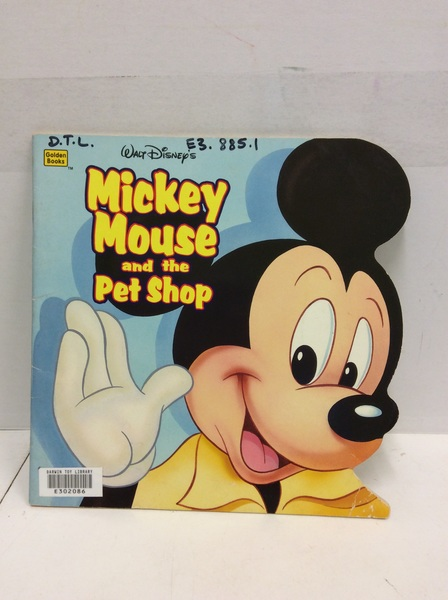 E3.885.1: MICKEY MOUSE AND THE PET SHOP